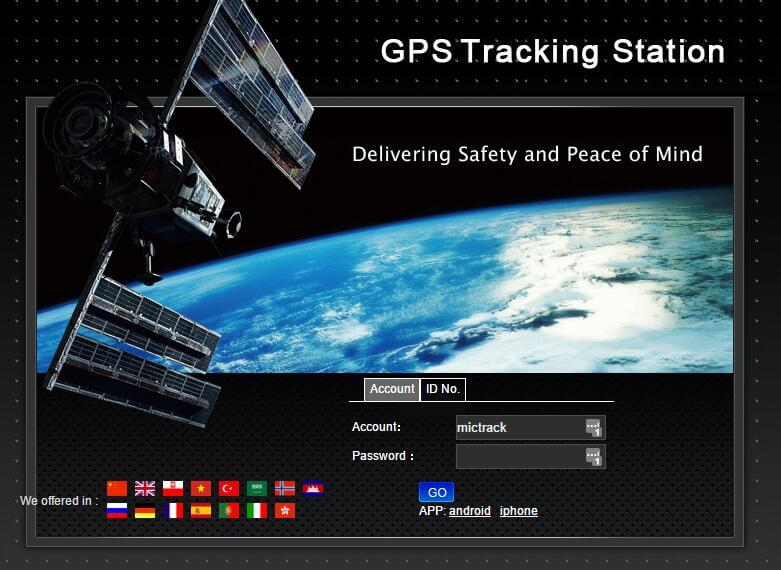 GPS Tracking System Android/IOS Mictrack